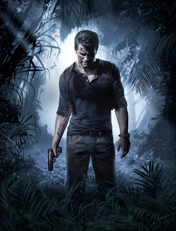 uncharted drake artwork