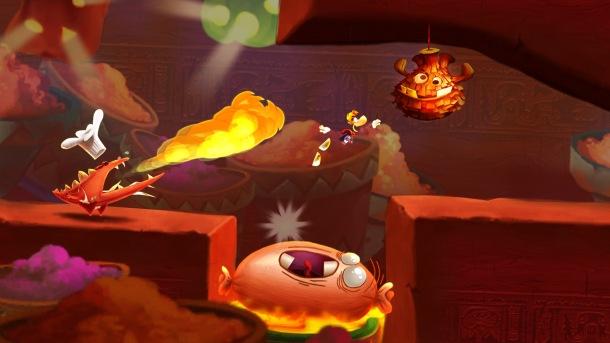 Rayman fiesta Run Piment