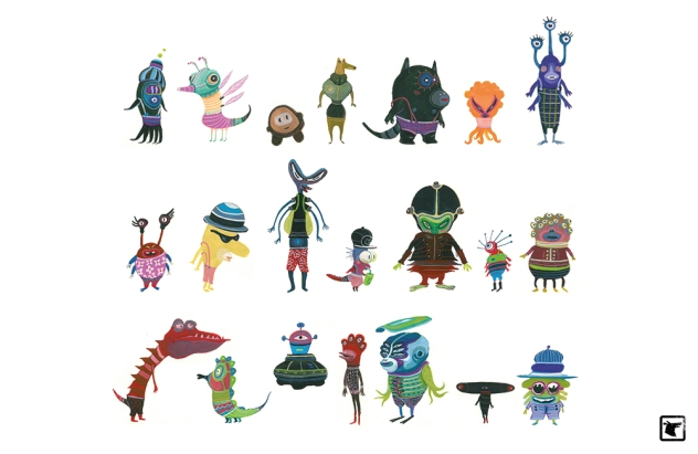 CIBO bestioles monstres artwork