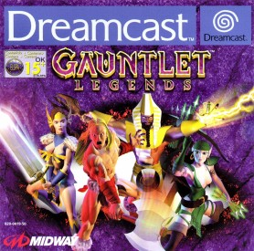 Gauntlet Legends PAL DC-front