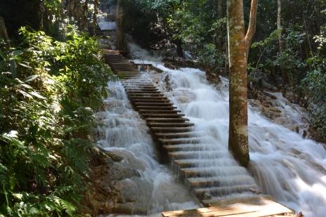 Escalier, coulé