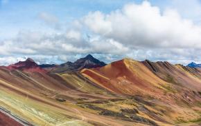 J'ai gravi un sommet à 5100 mètres d'altitude (Rainbow Mountain –Pérou)