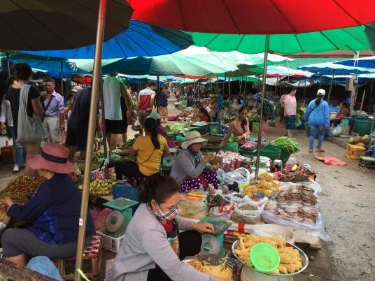 Marché de Luang Prabang