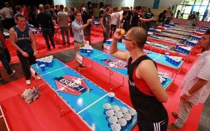 la-finale-du-1er-european-series-of-beer-pong-se-deroule-ce-dimanche-au-parc-des-expositions-de-pau